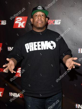 Stock Image of DJ Premier