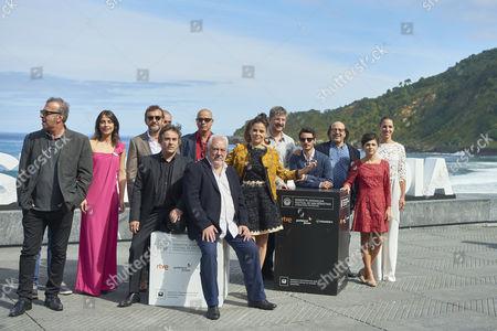 Editorial image of 'Lejos del mar' photocall, San Sebastian International Film Festival, Spain - 24 Sep 2015
