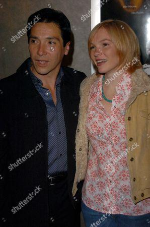 Benito Martinez and Abby Brammell