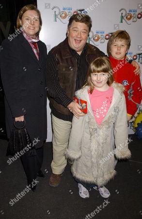 Jono Coleman and family