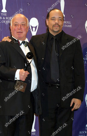 Seymour Stein with Ice T