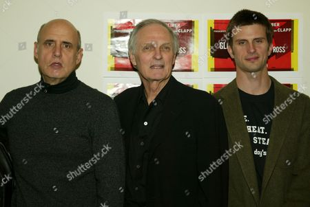 Jeffrey Tambor, Alan Alda and Frederick Weller