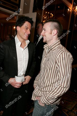 Ioan Gruffud  and Chris Evans