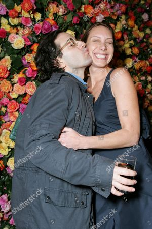 Marc Jacobs and Jacqui Getty