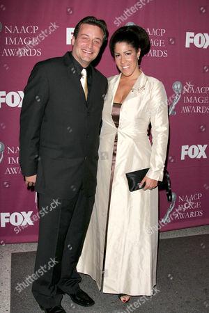 Rain Pryor and Husband