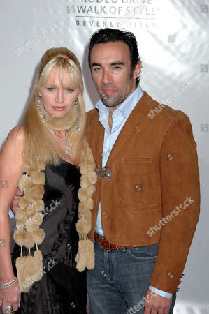 Francesco Quinn and wife June