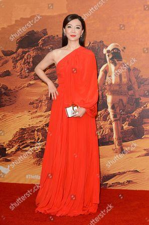Editorial picture of 'The Martian' film premiere, London, Britain - 24 Sep 2015