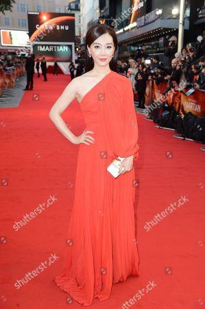 Editorial image of 'The Martian' film premiere, London, Britain - 24 Sep 2015