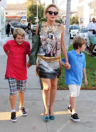 Sharon Stone, Laird Vonne Stone, Quinn Kelly Stone