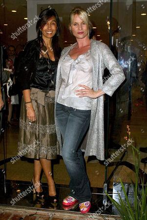 Consuelo Castiglioni and Nicolette Sheridan
