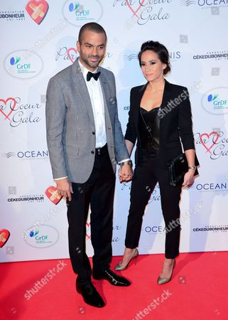 Tony Parker and Axelle Francine