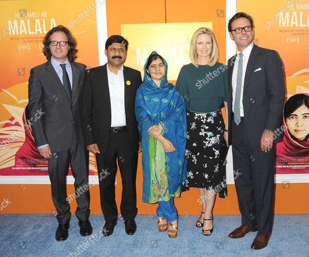 David Guggenheim, Ziauddin Yousafzai, Malala Yousafzai, Kathryn Hufschmid, James Murdoch