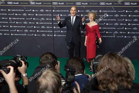 Alain Berset and Corine Mauch