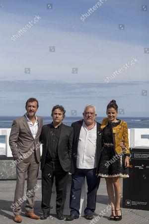 Jose Luis Garcia Perez, Eduard Fernandez, Imanol Uribe and Elena Anaya