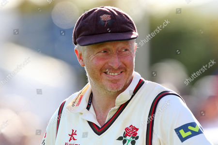 Glen Chapple of Lancashire looks on during Essex CCC vs Lancashire CCC, Day Four
