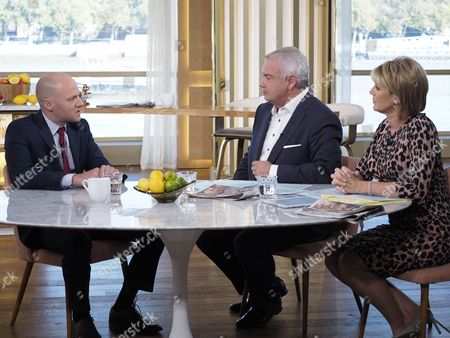 Will Payne with Eamonn Holmes and Ruth Langsford
