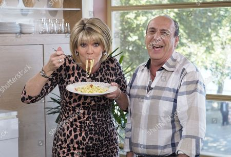 Ruth Langsford and Gennaro Contaldo