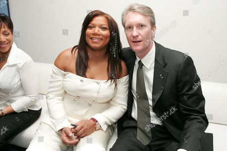 Queen Latifah and Chris McGurk