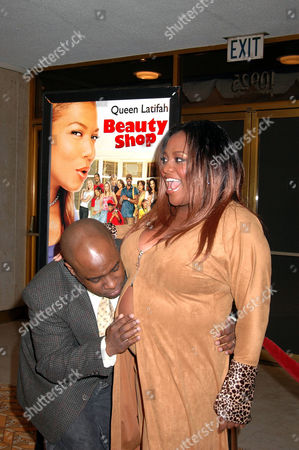 Editorial photo of 'BEAUTY SHOP' FILM PREMIERE, LOS ANGELES, AMERICA - 24 MAR 2005