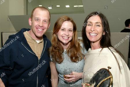 Paul Lieberstein, Jenna Fischer and Teri Weinberg