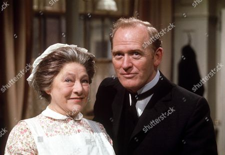 Editorial image of 'UPSTAIRS DOWNSTAIRS' TV SERIES - 1970S