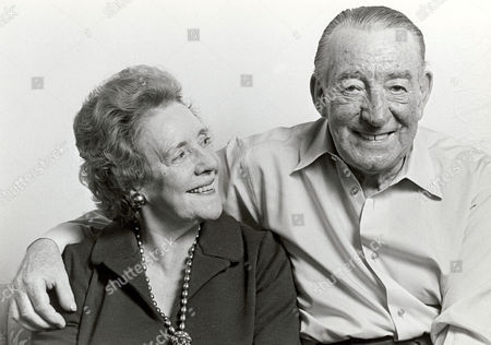 WILFRED PICKLES WITH HIS WIFE MABEL MYERSCOUGH - 1970'S