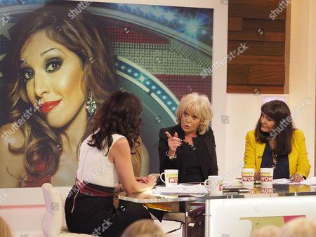 Andrea McLean, Nadia Sawalha and Hilary Devey