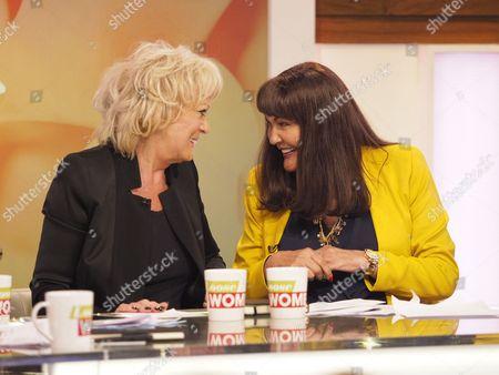 Sherrie Hewson and Hilary Devey