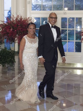 Washington Post Columnist Eugene Robinson and Mrs. Avis Robinson