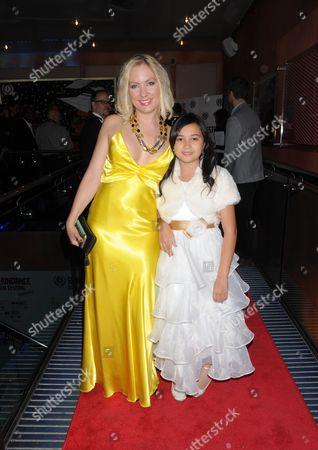Stock Picture of Katarina Gellin and Alexandra Newick