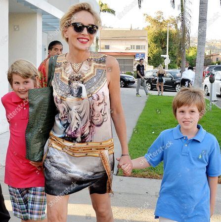 Editorial picture of Sharon Stone out and about, Los Angeles, America - 24 Sep 2015