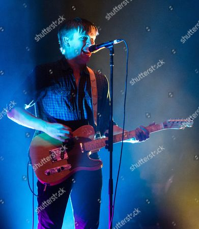 Drenge - support act. In this picture - Eoin Loveless