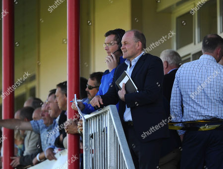 Bristol Rugby Director of Rugby Andy Robinson and Bristol Rugby First Team Coach Sean Holley