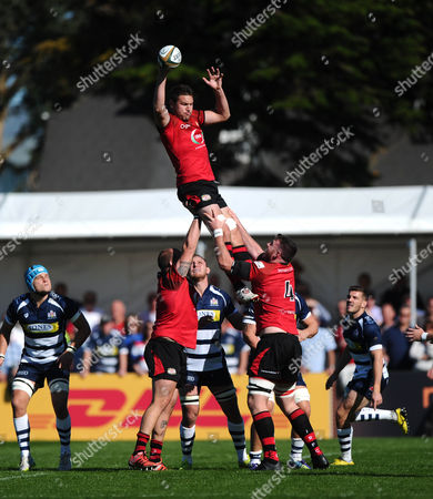 Jersey win a line out