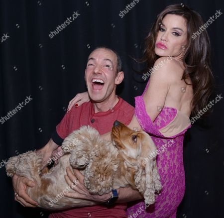 Janice Dickinson, Jeremy Joseph and his dog Jacob