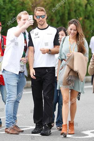 Jenson Button, Jessica Michibata