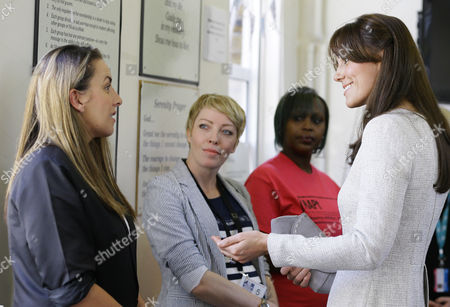 Editorial image of Catherine Duchess of Cambridge visits HMP Send, Woking, Surrey, Britain - 25 Sep 2015