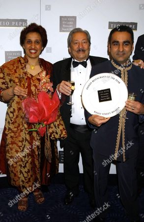 Editorial photo of LONDON RESTAURANT AWARDS, GROSVENOR HOTEL, LONDON, BRITAIN - 04 APR 2005