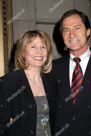 Donna Hanover and husband