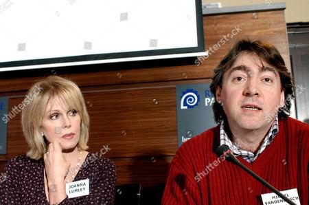 Joanna Lumley and Michel Vandenbosch