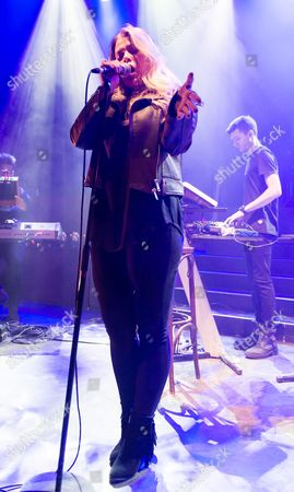 Editorial image of Leon Bridges concert at Shepherds Bush Empire, London, Britain - 28 Sep 2015 REX ASSIGN