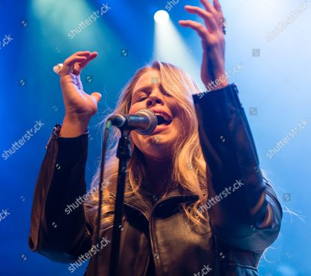 Stock Photo of Grace - support act. In this picture - Grace Sewell