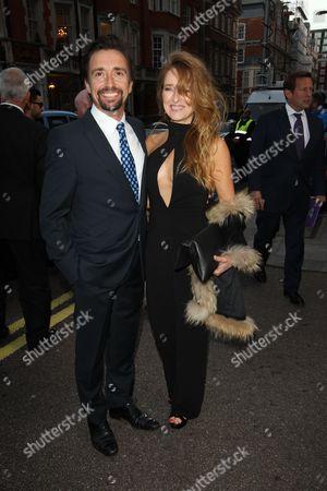 Stock Picture of Richard Hammond and Amanda Etheridge