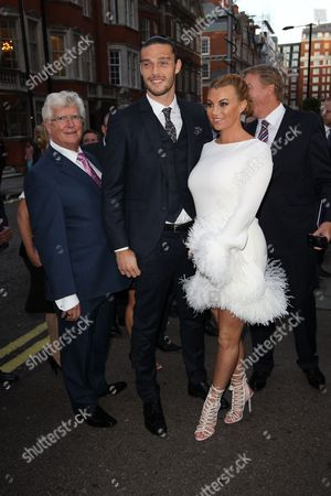Andy Carroll, Billi Mucklow and guest