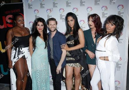 Stock Image of Danny Pintauro with LA, Bambi, Bionka, Nya, Xristina