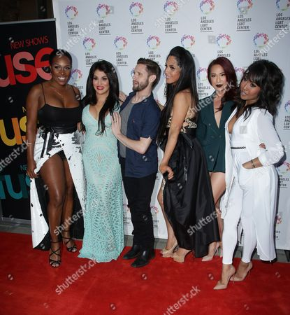 Editorial image of 'Transcendent' TV series premiere party, LGBT Center, Los Angeles, America - 28 Sep 2015