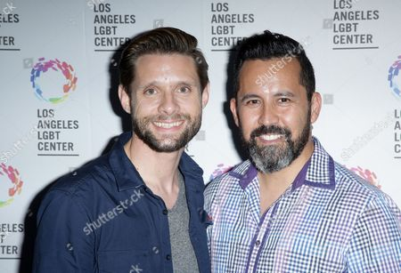 Danny Pintauro with partner Wil Tabares
