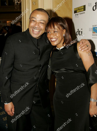 Paul Boateng and wife Janet