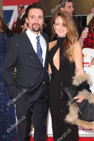 Stock Photo of Richard Hammond and wife Amanda Etheridge
