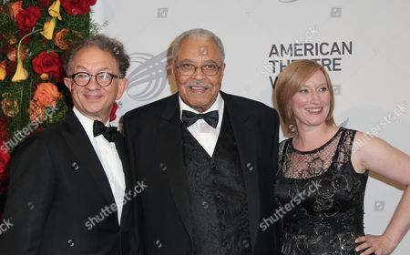 William Ivey Long, James Earl Jones, Heather Hitchens